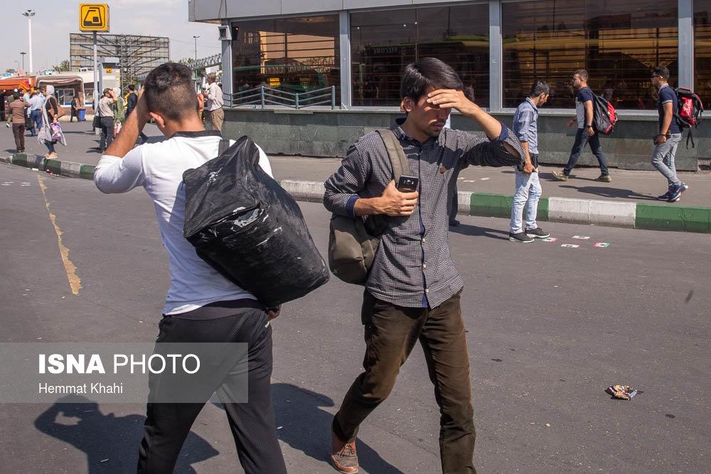 تصاویر | تهران؛ ۴۱ درجه سانتیگراد