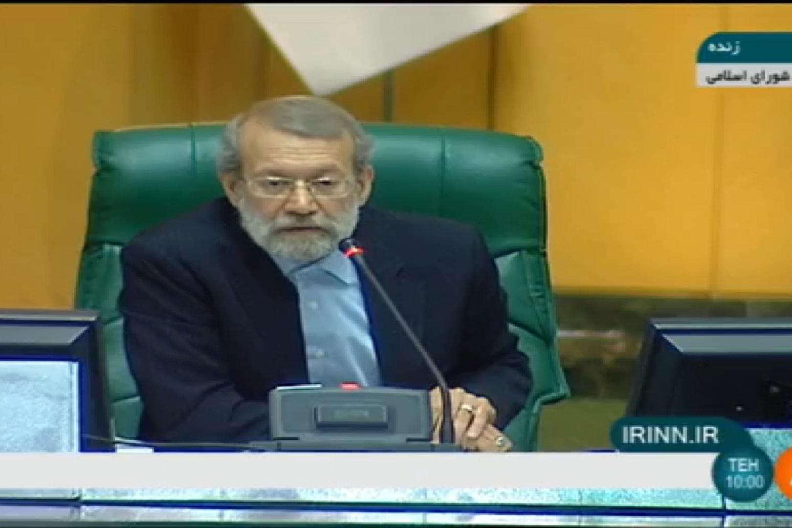 فیلم | شوخی لاریجانی با نماینده موافق وزیر ورزش: دفاع در وقت غصبی نتیجه معکوس دارد!
