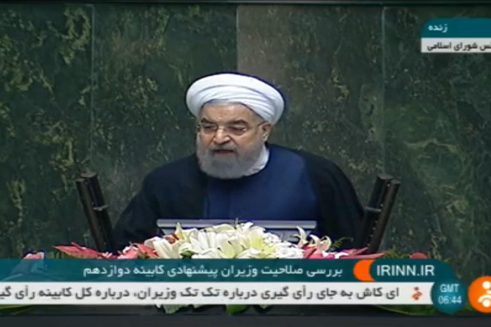 فیلم | روحانی: منتقد نباید از وزیر اطلاعات بترسد | درخواست از آوایی برای رسیدگی به حقوق بشر