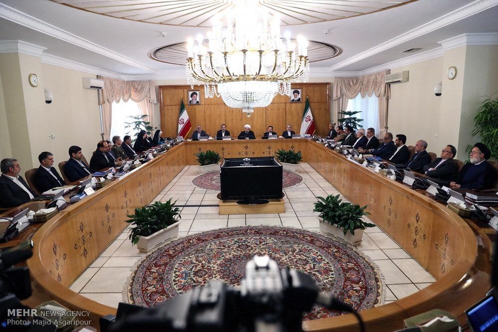 تصاویر   اولین جلسه هیات دولت دوازدهم