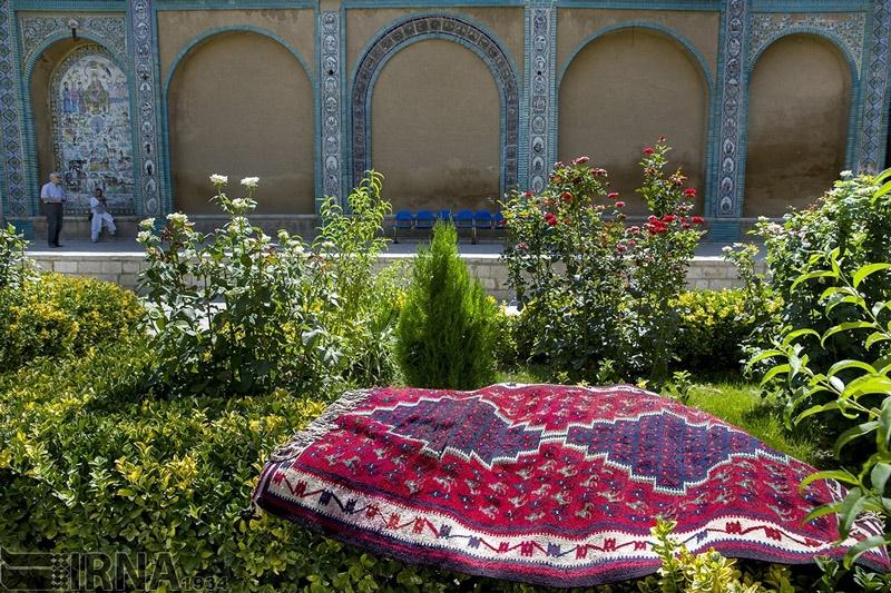 تصاویر   تکیه قجری در کوچههای فدیمی کرمانشاه