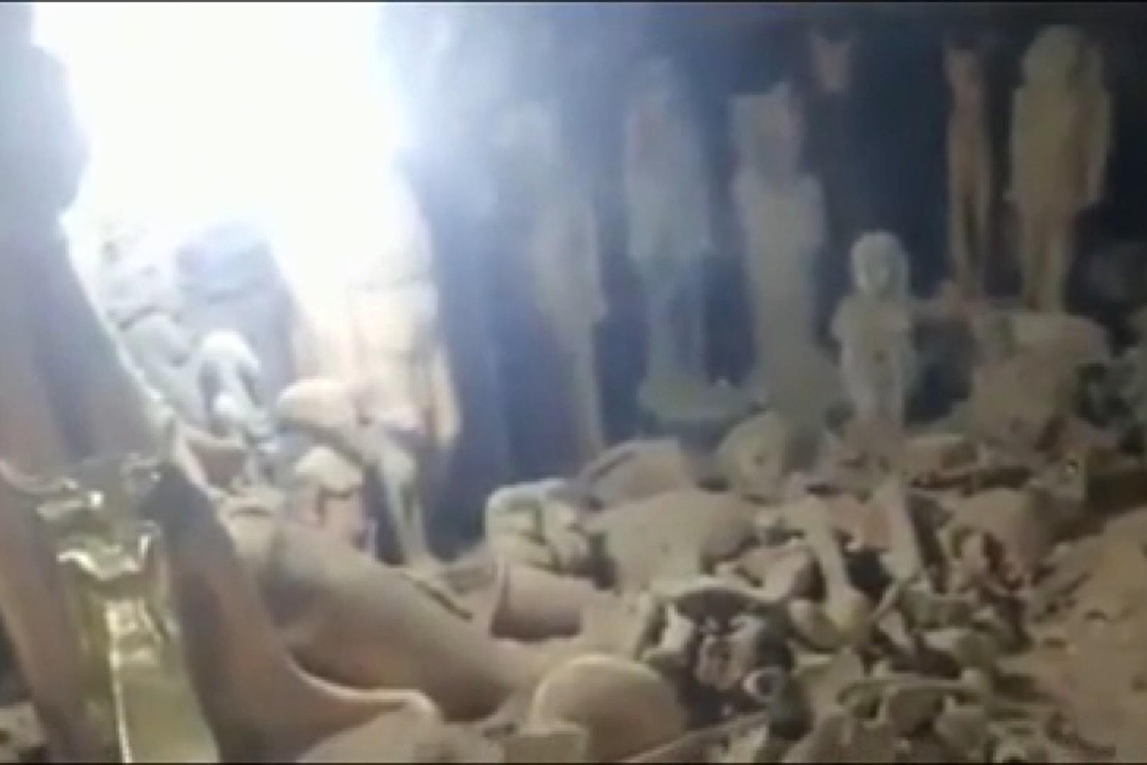 فیلم   ادعای کشف گنج قارون در مصر!