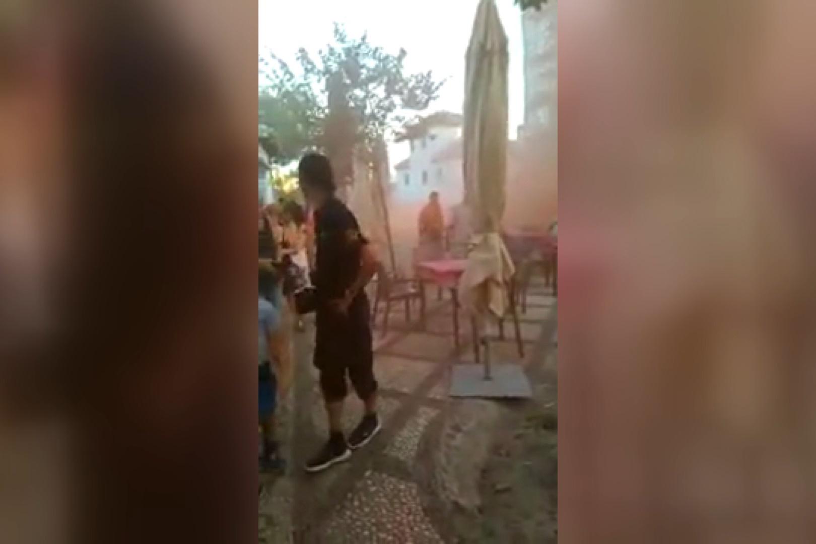 فیلم | حملات نژادپرستانه اسپانیاییها به مراکز اسلامی