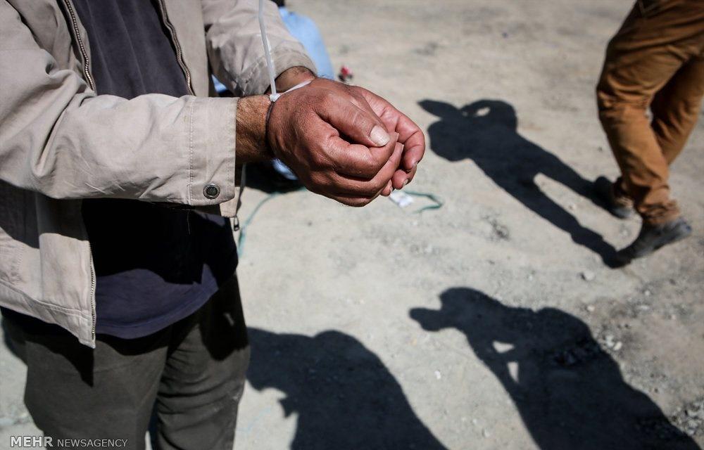 تصاویر   بازداشت ۶۰۰ معتاد در تهران در کمتر از ۲۴ ساعت