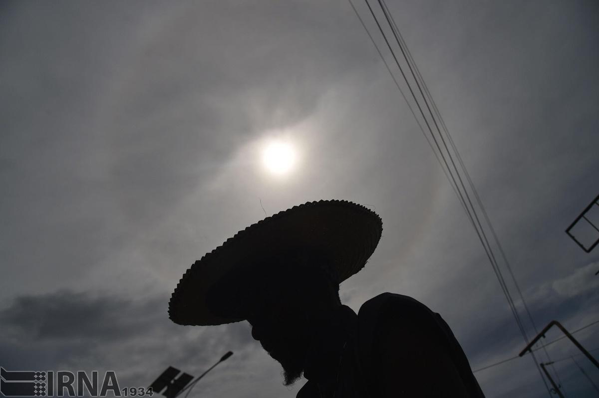 تصاویر تماشایی از خورشیدگرفتگی در آمریکا