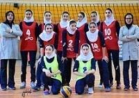 یک قدم تا قهرمانی تیم امید بانوان والیبال زنجان