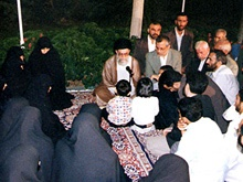 روایتی از دیدار خانواده شهدای ترور با رهبر انقلاب /شهیدی که رهبری او را «مرد پولادین» نامید