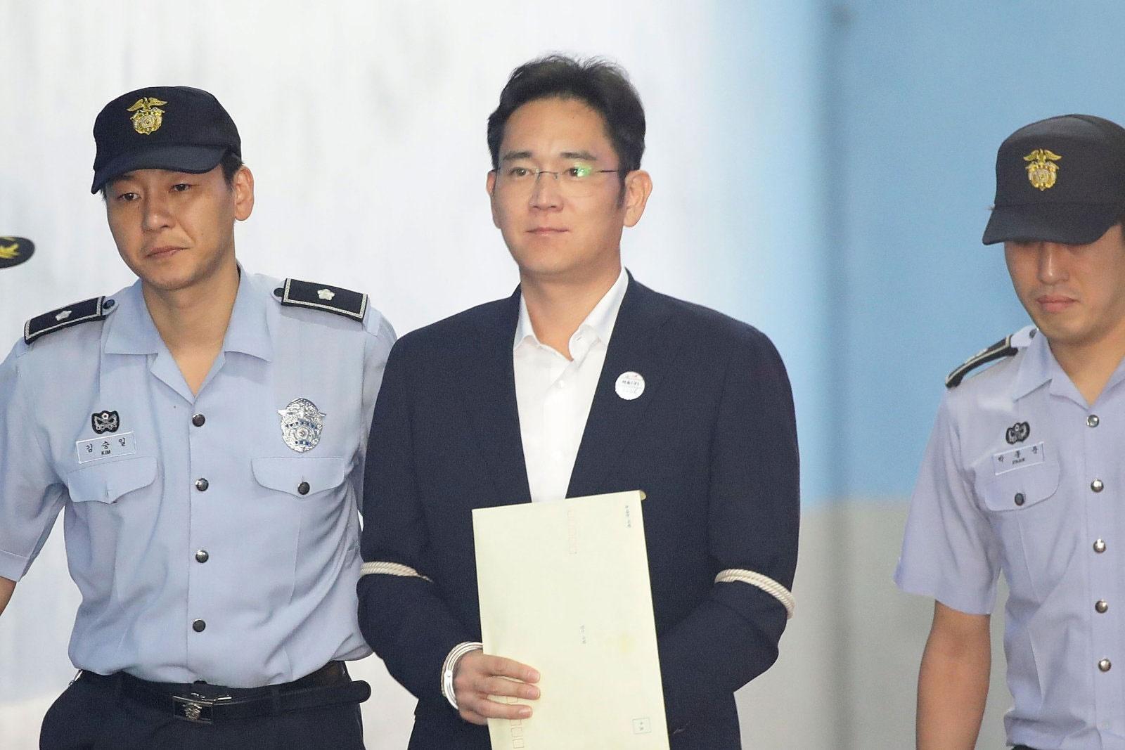۵ سال زندان برای رئیس سامسونگ