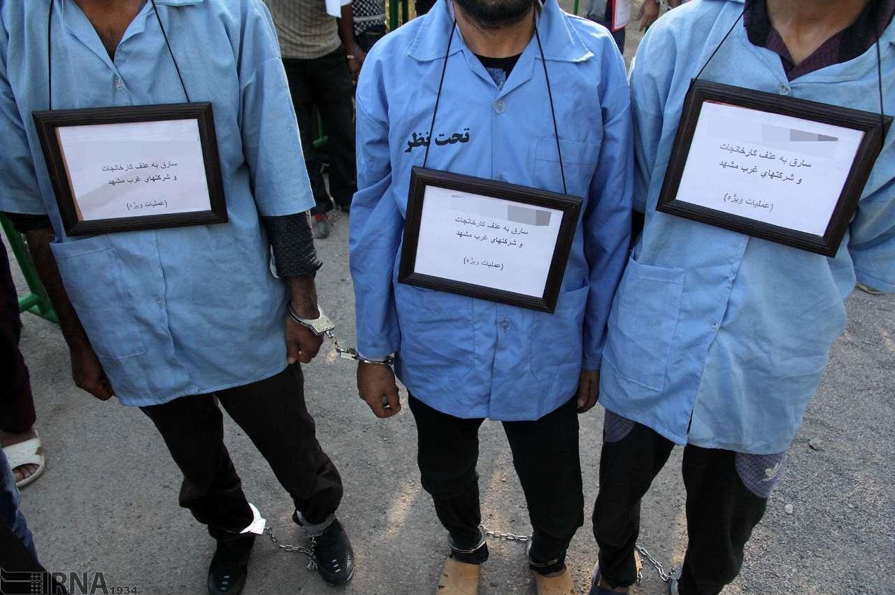 تصاویر | بازداشت ۵۰۰ سارق، معتاد و اراذل و اوباش در مشهد