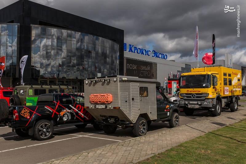 تصاویر   نمایشگاه تخصصی خودروهای آفرود و سافاری در مسکو