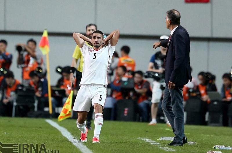 تصاویر   دیدار تیمهای ملی فوتبال ایران و کرهجنوبی