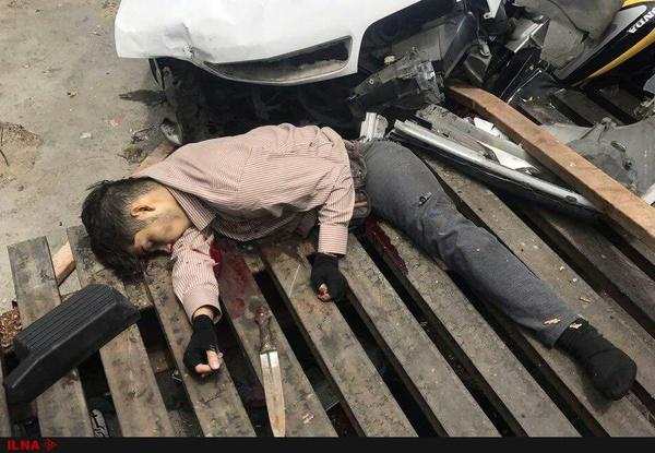 تصادف خودروی زانتیا با فرد زورگیر عمدی نبوده است