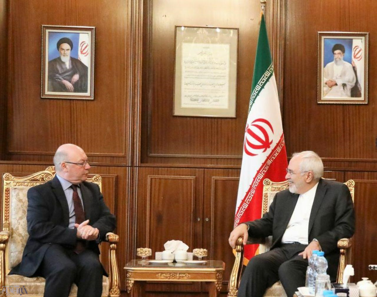 معاون وزیر خارجه انگلیس با ظریف دیدار کرد