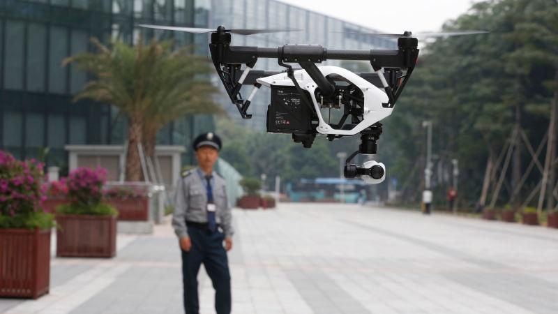 ممنوعیت استفاده ازمینی پهپادهای داجیانگ چین توسط ارتش آمریکا