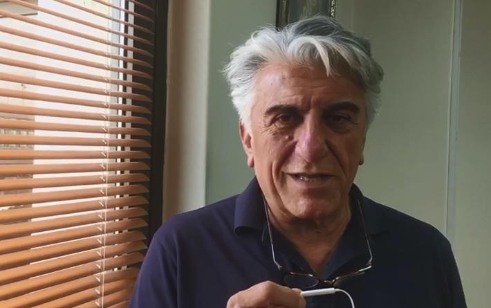 فیلم | تبریک رضا کیانیان به خبرنگاران و یک درخواست ویژه از روحانی