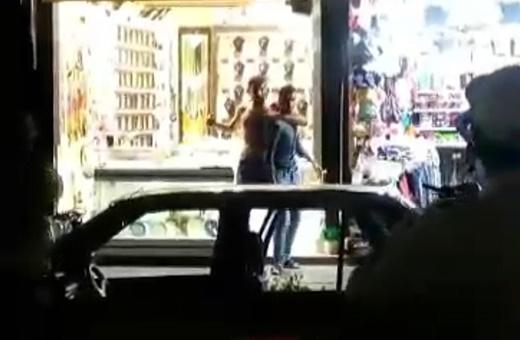 گروگانگیر مشهدی با شلیک گلوله از پای درآمد/ فیلم