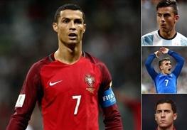 ۲۴ نامزد کسب عنوان بهترین فوتبالیست سال دنیا معرفی شدند