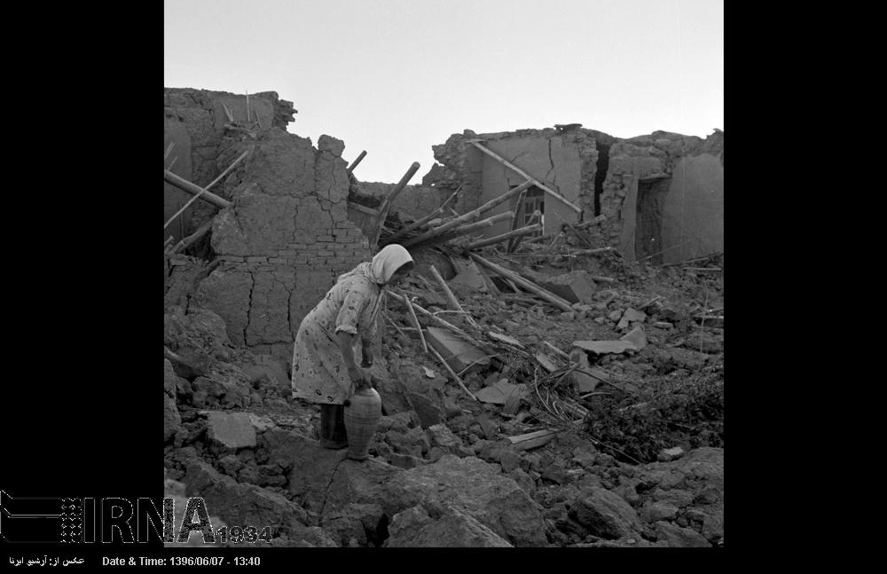 تصاویر   زلزلهای که بوئینزهرا را با خاک یکسان کرد