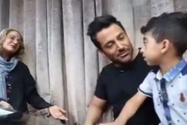 فیلم | لحظه دیدار امیر عباس کچلیک و محمدرضا گلزار