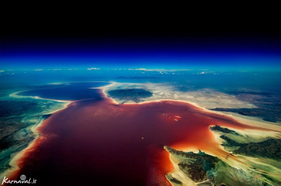 دریاچه ارومیه در شرایط بحرانی است