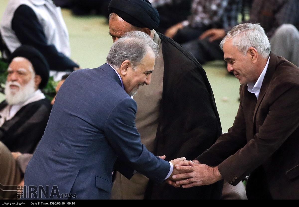 تصاویر | از علیاکبر صالحی تا نجفی و محسن هاشمی در نماز عید قربان