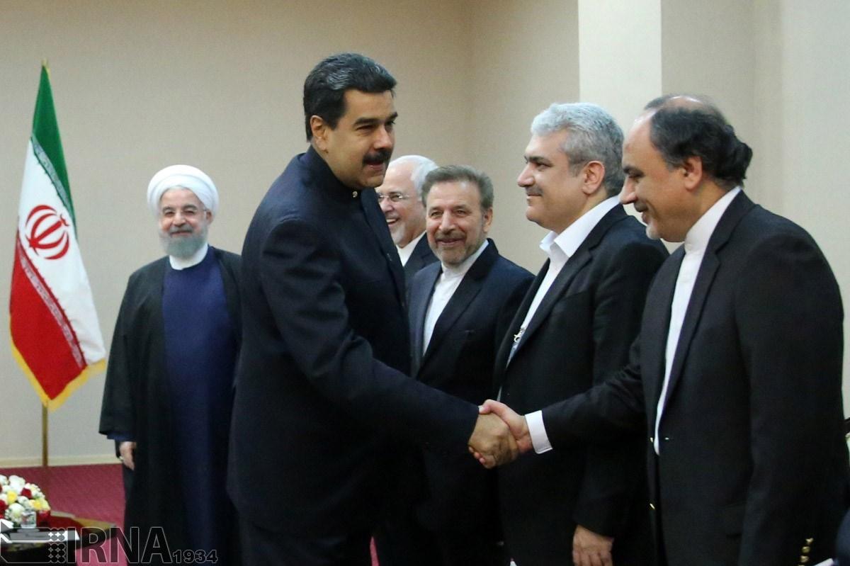 تصاویر | دیدار روحانی و مادورو در آستانه                                  ,