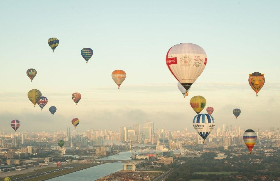 تصاویر | سالگردی متفاوت برای احداث فرودگاه سیتی لندن