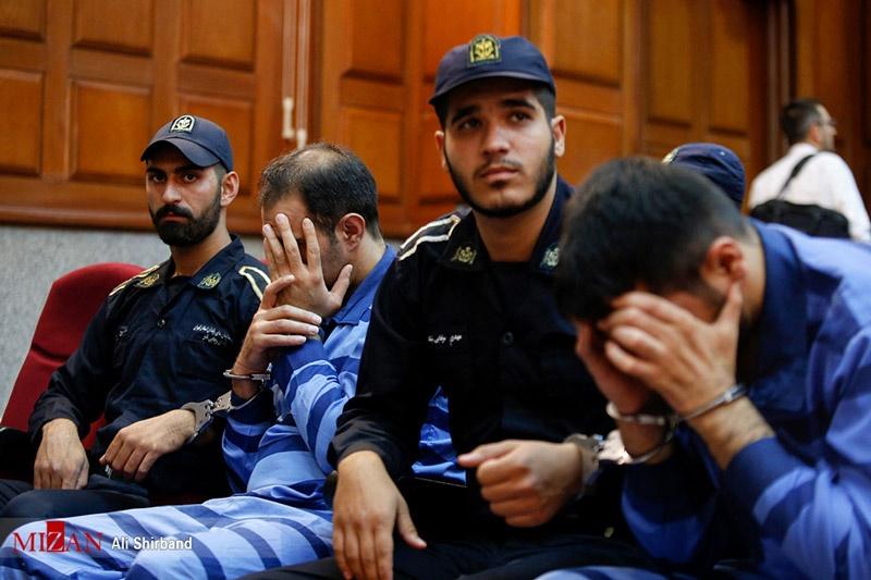 تصاویر | جلسه محاکمه متهمان پرونده بنیتا