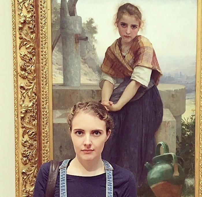 تصاویر   کسانی که همزادشان را در موزه پیدا کردند!